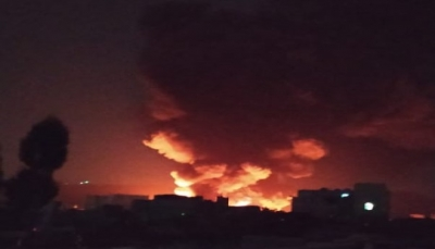 """طيران التحالف يعاود شنّ غاراته على مواقع في العاصمة """"صنعاء"""""""