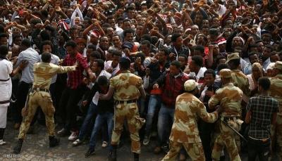 أثيوبيا: 50 قتيلا في احتجاجات حرائق في مقار شركات عقب إغتيال مُغني مشهور