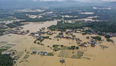 فيضانات مدمرة تتسبب بانهيار بنايات وانجراف منازل ومقتل العشرات جنوب الصين (فيديو)