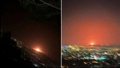 انفجار جديد يضرب محطة غاز إيرانية بالقرب مقر سري لإنتاج النووي (فيديو)