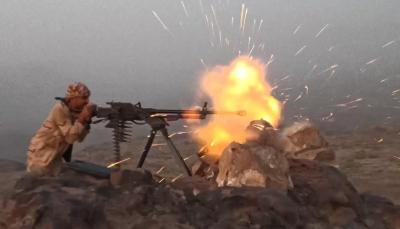 الضالع: مقتل 5 عناصر من المليشيا الحوثية بنيران الجيش في جبهة مريس