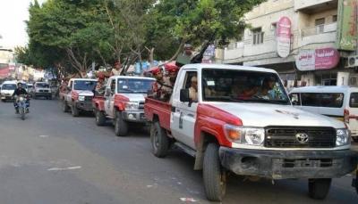 تعز: الشرطة العسكرية تلقي القبض على مطلوبين أمنيا في جبل حبشي