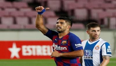 برشلونة يهزم إسبانيول ويواصل ملاحقة ريال مدريد