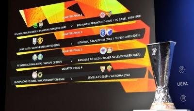 مباريات قوية في ربع نهائي مسابقة الدوري الأوروبي