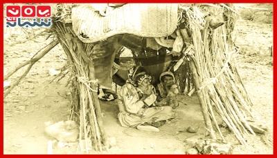 """تعز.. النازحون في """"موزع"""".. من جحيم الحرب إلى أهوال التشرد (تقرير خاص)"""
