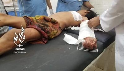 إصابة طفل برصاص قناصة مليشيات الحوثي شرقي تعز