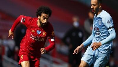 بيرنلي يقتنص نقطة ثمينة من ليفربول