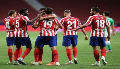 أتلتيكو مدريد يستعيد نغمة الانتصارات بالتغلب على بيتيس