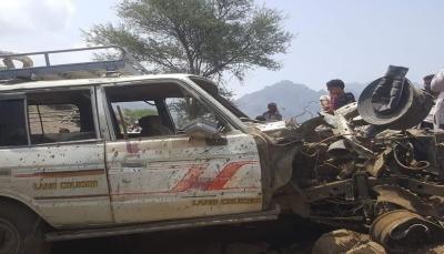 إصابة مدني بانفجار لغم زرعه الحوثيون غربي تعز