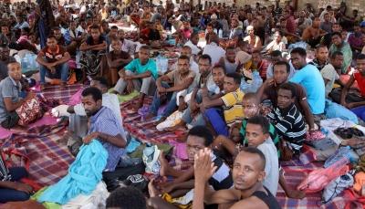 المنظمة الدولية للهجرة تتهم اليمن باعتقال آلاف المهاجرين الأفارقة