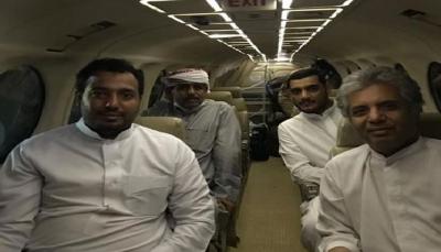 وفد حضرموت يصل الرياض للمشاركة في المشاورات