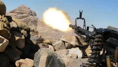 الضالع: مصرع عددا من مسلحي الحوثي بينهم قيادي بنيران قوات الجيش