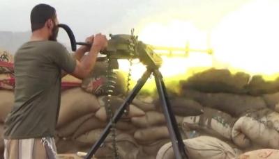 مقتل وإصابة مسلحين حوثيين بمدفعية القوات المشتركة جنوبي الحديدة