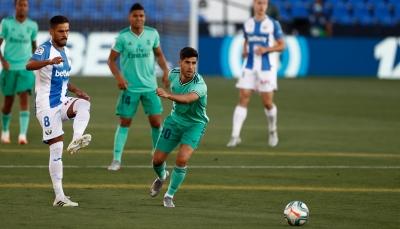 ريال مدريد يتعادل مع ليغانيس ويلقي به إلى دوري الدرجة الثانية