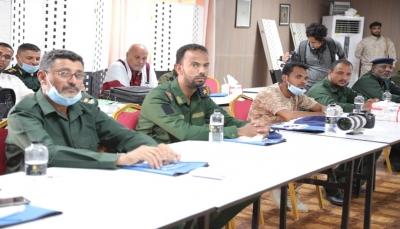 المهرة: ورشة تدريبية لمنتسبي الشرطة والأمن حول القانون الإنساني الدولي
