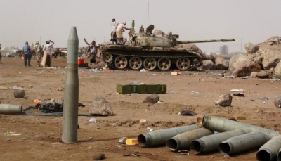 تجدد المواجهات بين القوات الحكومية ومليشيا الانتقالي الاماراتي في أبين