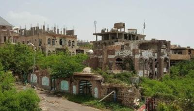 إصابة طفل بانفجار لغم أرضي من مخلفات الحوثي شرقي تعز