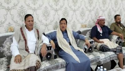 """نائب رئيس مجلس النواب """"عبد العزيز جباري"""" يصل إلى محافظة المهرة"""