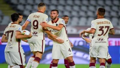 روما يفوز على تورينو ويضمن المشاركة في الدوري الأوروبي