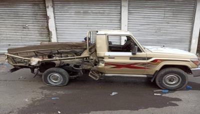 مقتل جندي بانفجار عبوة ناسفة استهدفت طقم عسكري بمدينة تعز