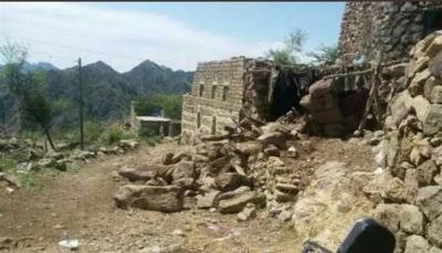ذمار: تضرر عشرات المنازل جراء الأمطار والانهيارات الصخرية