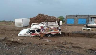 السيول تهدد بكارثة حقيقة والحكومة تدعو المنظمات لإغاثة المتضررين ومعالجة آثار السيول