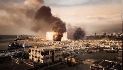 ترامب: جنرالاتنا يعتقدون أن انفجار بيروت ربما يكون هجوم بقنبلة