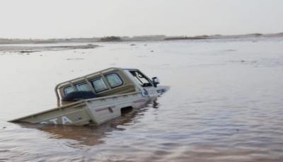 السيول تودي بحياة 4 أشخاص بمأرب وانهيار أربعة منازل بصنعاء والحكومة تناشد اليونسكو
