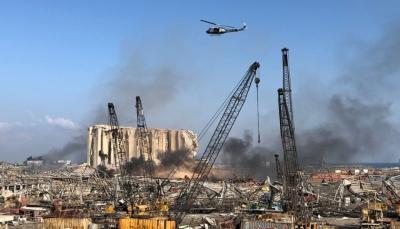 مسؤول لبناني: خسائر ميناء بيروت تقدر بنحو 15 مليار دولار