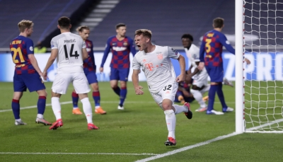 بايرن ميونيخ يسحق برشلونة بثمانية أهداف في ليلة تاريخية