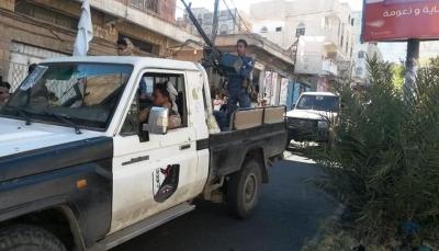 تعز: حملة أمنية تضبط 6 من الخارجين عن القانون في جبل حبشي