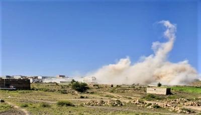 """الحوثيون يفجّرون منزل مواطن في البيضاء.. ومنظمة """"سام"""" تعدّها """"جريمة حرب"""""""