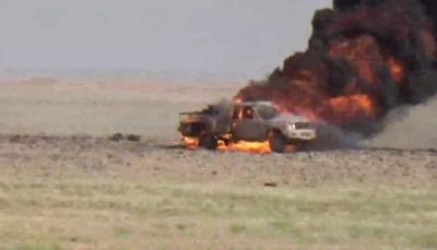 الجيش ينفذ عملية تمشيط ويحاصر مجموعة من الحوثيين شرقي الحزم بالجوف