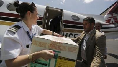 الحوثيون يعلنون توقف استقبال الرحلات الأممية في مطار صنعاء