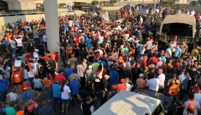 لبنان: جرحى واعتقالات في مسيرة اتجهت نحو القصر الرئاسي تطالب برحيل الرئيس