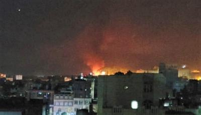 مقاتلات التحالف تشن سلسلة غارات جوية على مواقع في العاصمة صنعاء
