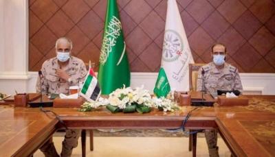 محادثات عسكرية بين السعودية والإمارات لمناقشة العمليات العسكرية في اليمن