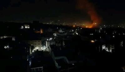 لليوم الثالث على التوالي مقاتلات التحالف تقصف مواقع متفرقة فيالعاصمة صنعاء