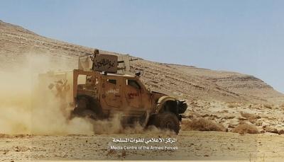 """الجيش الوطني يعلن تحرير مواقع إستراتيجية في """"جبهة نهم"""" شرقي صنعاء"""