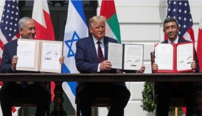 بإحتفاء من ترامب.. الإمارات والبحرين توقعان اتفاقي تطبيع مع إسرائيل في واشنطن