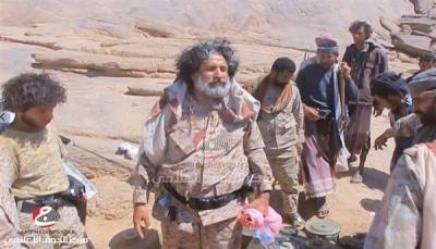 """""""نهاية العصابة الحوثية اقتربت"""".. اللواء العكيمي: قوات الجيش والمقاومة على مشارف """"الحزم"""""""