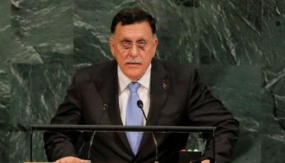"""ليبيا: رئيس المجلس الرئاسي """"السراج"""" ينوي تسليم السلطة في أكتوبر المقبل"""