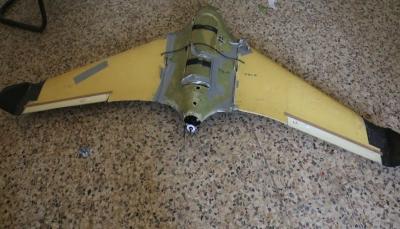 الجيش الوطني يسقط طائرة استطلاع حوثية في تعز