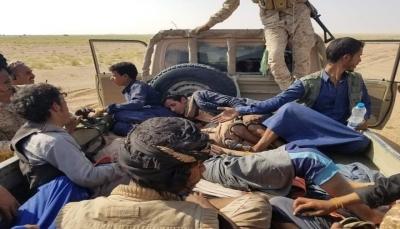"""""""غارات جوية تدمر تعزيزات"""".. الجيش يعلن مقتل أكثر من 15 حوثيا في """"رحبة"""" جنوبي مأرب"""