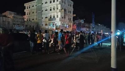 تواصل الاحتجاجات الغاضبة والمطالبة بتحسين الخدمات في المكلا