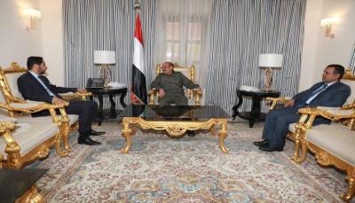 نائب الرئيس يناقش مع السفير الجيبوتي خطوات تأمين الملاحة الدولية