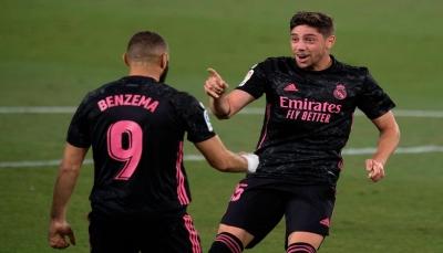 ريال مدريد يحقق أول انتصار له في الموسم الجديد بصعوبة