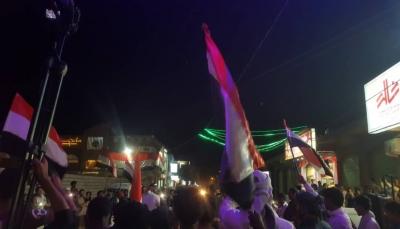 بالصور.. احتفالات شعبية في شوارع مدينة مأرب بمناسبة ذكرى ثورة 26 سبتمبر