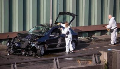 امرأة تتسبب بخمسة حوادث بالسيارة خلال نصف ساعة