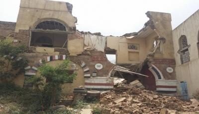 عمره نحو 350 عاما.. انهيار مبنى في المتحف الوطني بمدينة تعز
